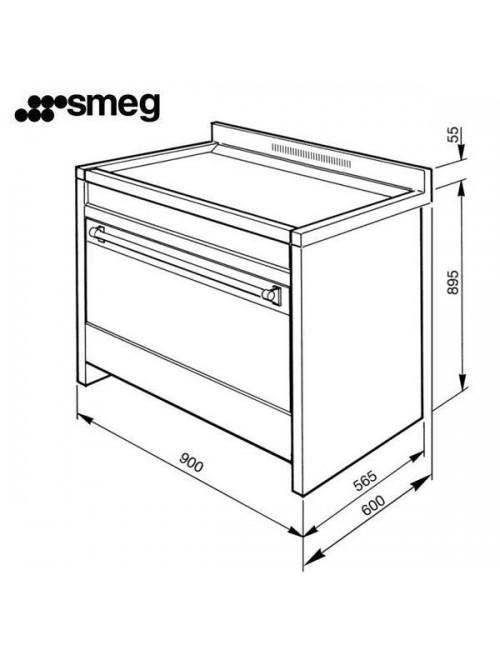 Cocina a gas OPERA SMEG A1-9