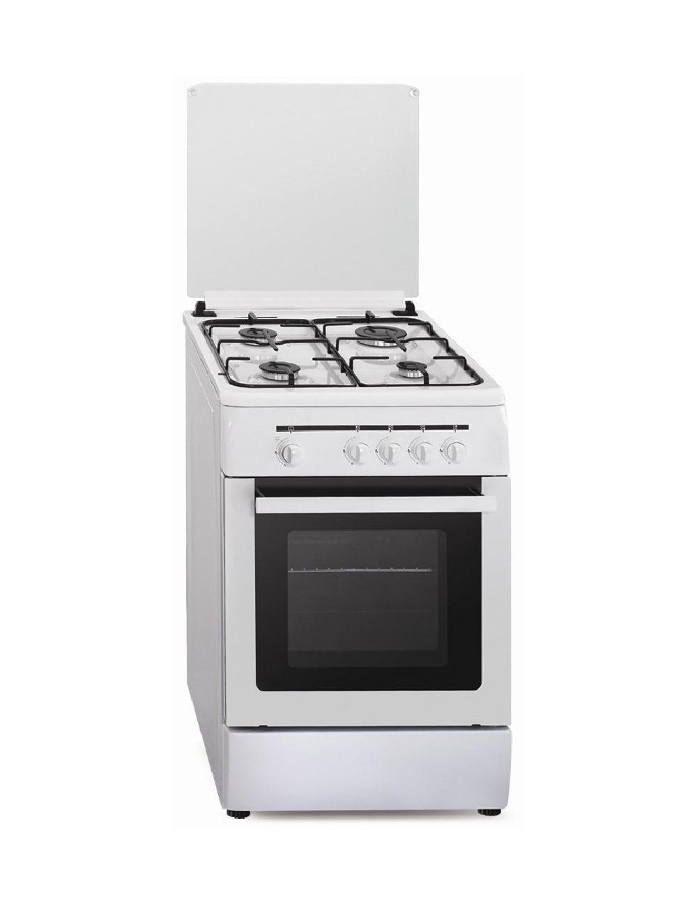 Cocina gas butano Vitrokitchen CB55BB ELEGANCE