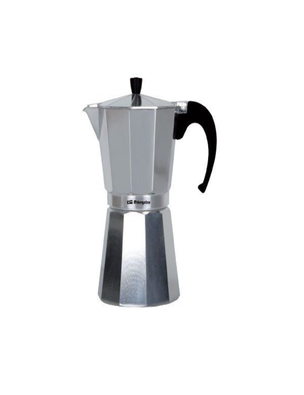 Cafetera de aluminio ORBEGOZO KF-1200