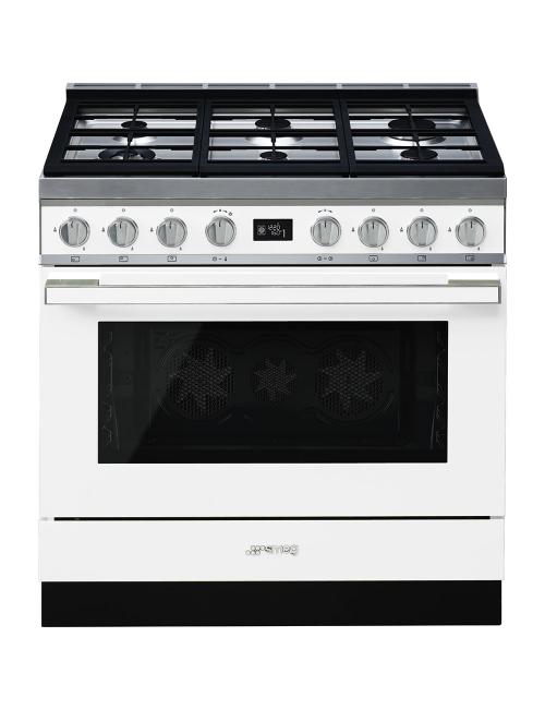 Cocina de gas PORTOFINO SMEG CPF9GMWH