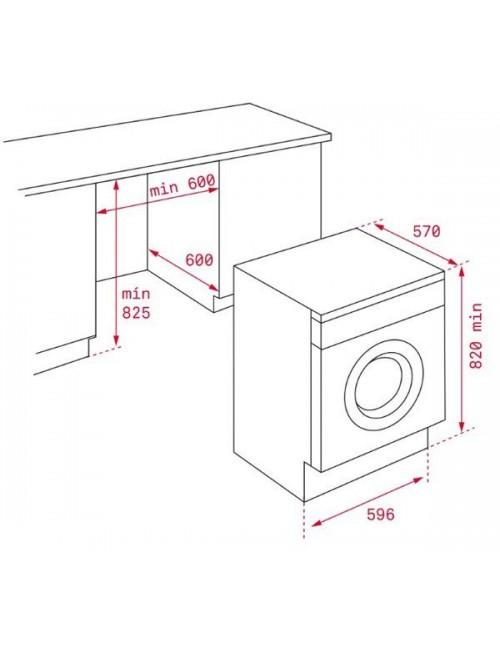 Lavadora integrable TEKA LI5 1080