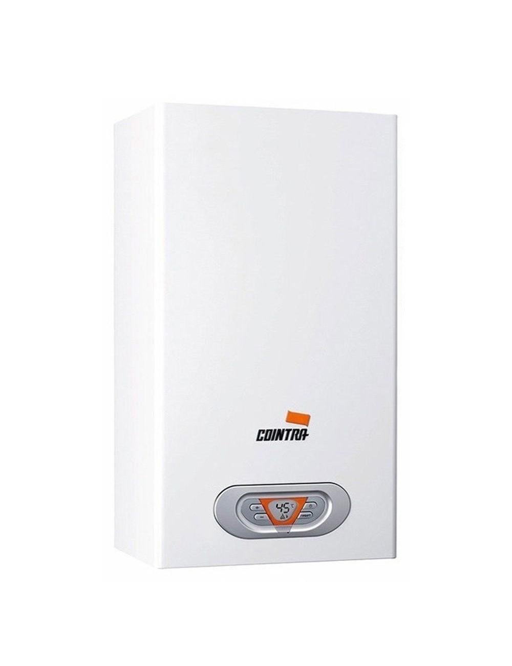 Calentador gas estanco Cointra CPE-17 T Butano Low NOx + Kit salida de gases