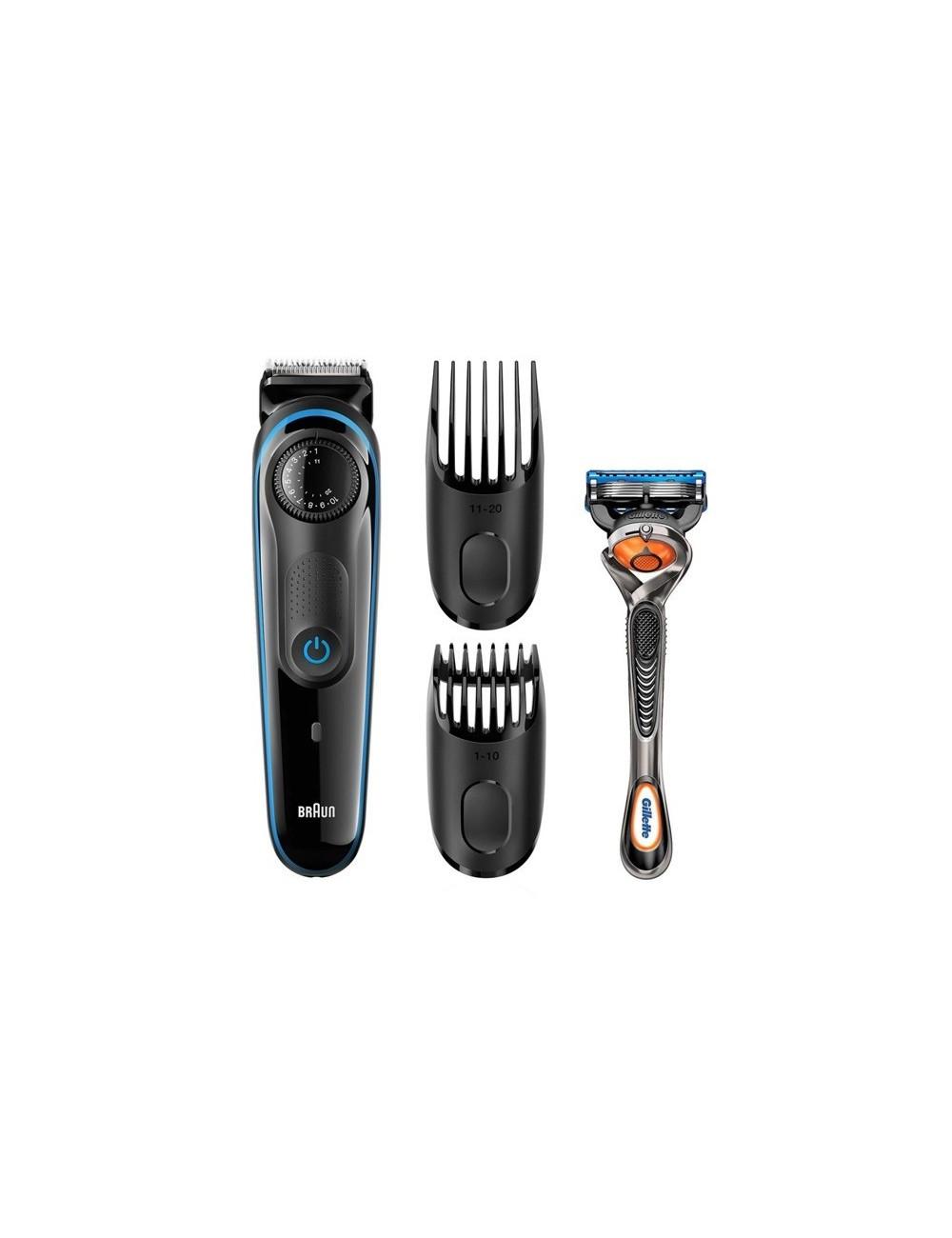 Recortadora barba BRAUN BT3940 39 ajustes máxima precisión