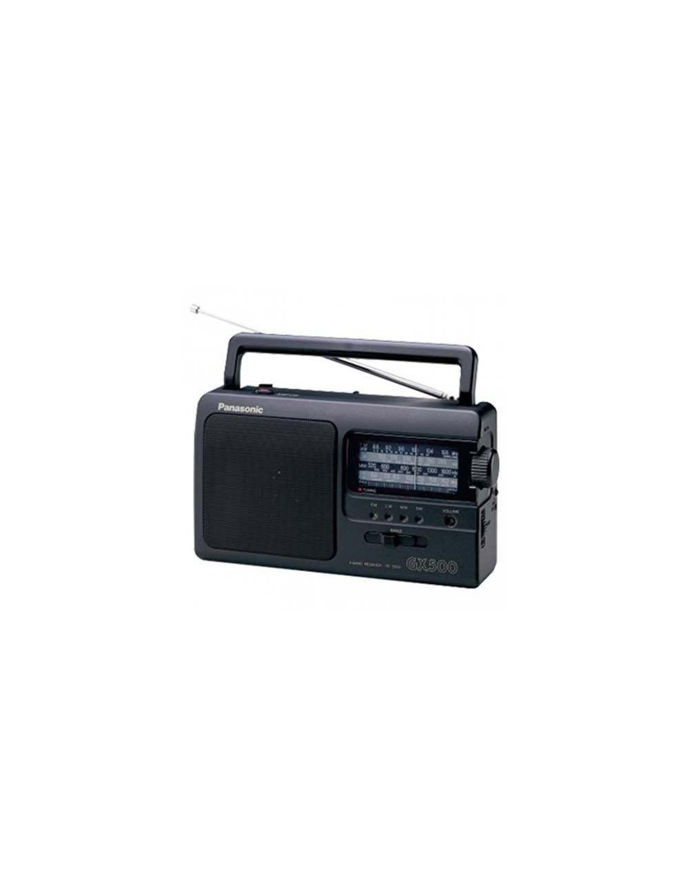 Radio portátil Panasonic RF-3500E-9K Negra multibanda