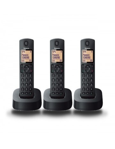 Teléfono fijo inalámbrico Panasonic KX-TGC313SPB Trío