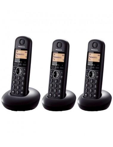 Teléfono fijo inalámbrico Panasonic KX-TGC213SPB Basic Trío
