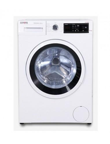 Lavadora Profesional Rommer 1139 A+++ 9 Kg 1000rpm Blanca