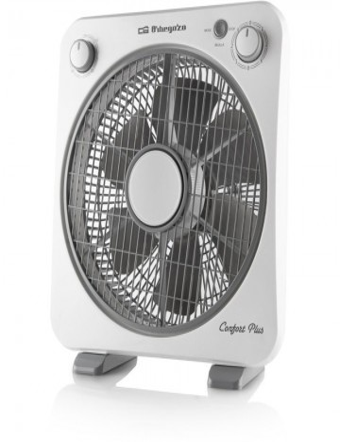 Ventilador Orbegozo Box Fan BF 0138 30cm 40W Blanco