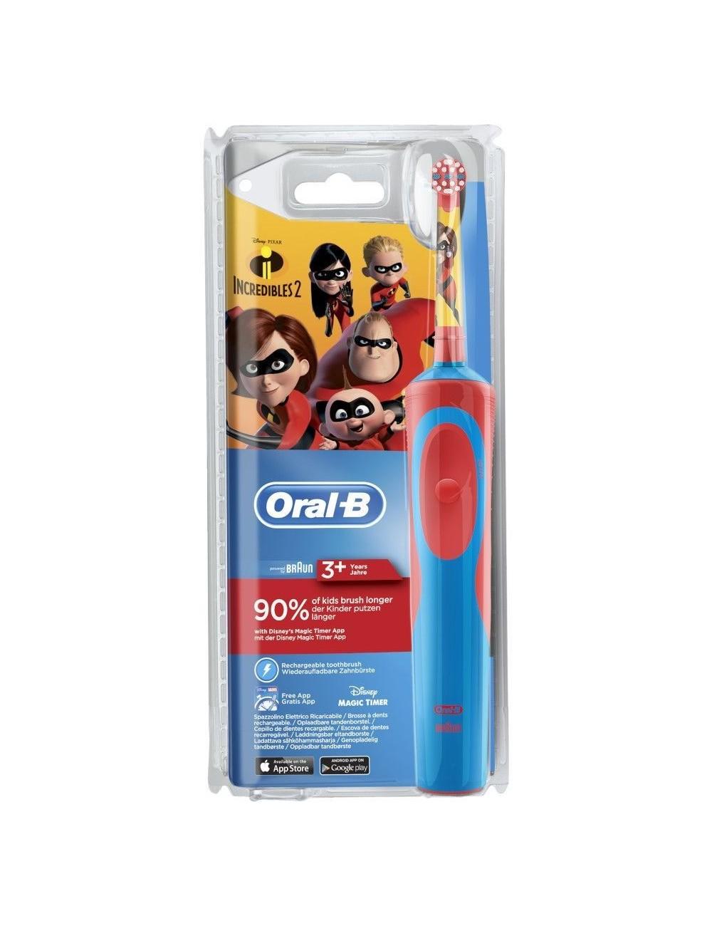 Cepillo de dientes Oral-B Kids D12513 Los Increíbles 2 Blister
