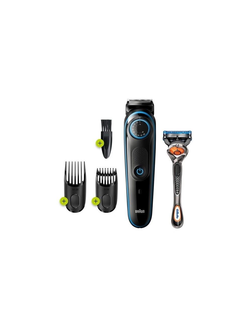 Recortadora barba BRAUN BT5240 Barbero con Dial Precision