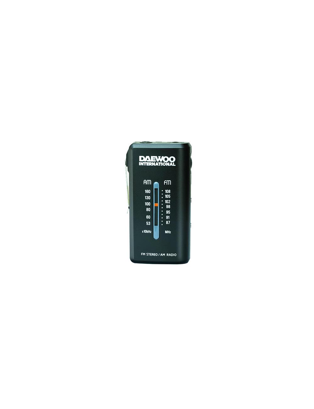 Radio Portátil DAEWOO DRP-9B Negra Analógica