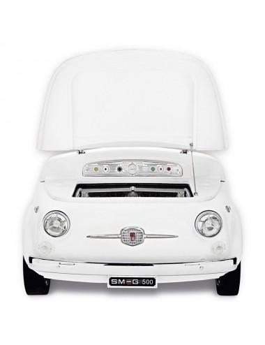 Frigorífico Coche Smeg SMEG500B Blanco Fiat 500 74cm A+++ Años 50 Style