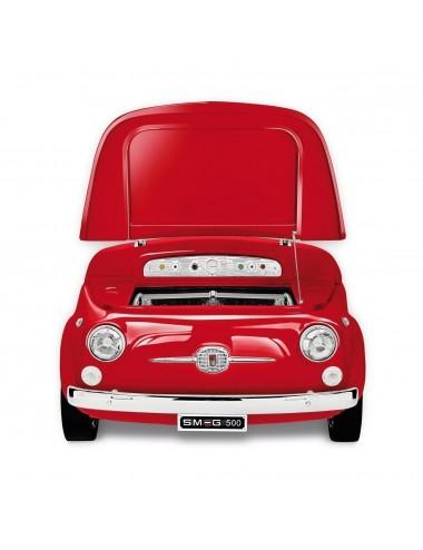 Frigorífico Coche Smeg SMEG500R Rojo Fiat 500 74cm A+++ Años 50 Style