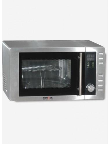 Microondas Rommer M 952 Inox 23L 800W Grill
