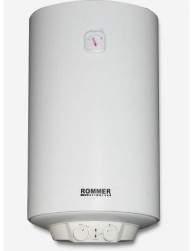 Termo Eléctrico Rommer M50 50L Calentador Vertical Exterior
