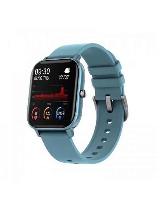 Reloj Smartwatch DCU Curved Glass Azul 34157037 Resistente Agua