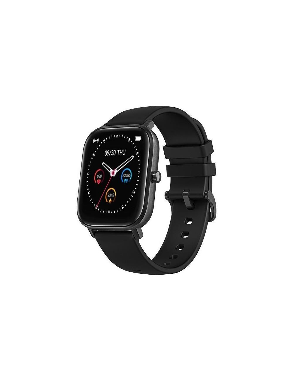 Reloj Smartwatch DCU Curved Glass Negro 34157035 Resistente Agua