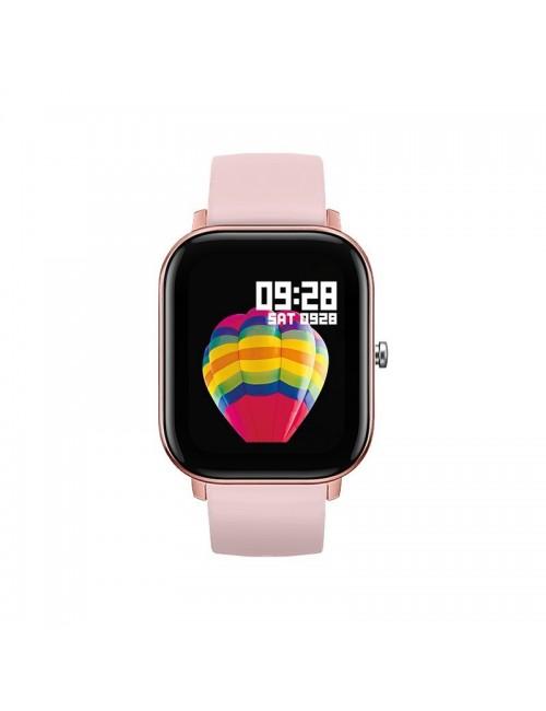 Reloj Smartwatch DCU Curved Glass Rosa 34157030 Resistente Agua