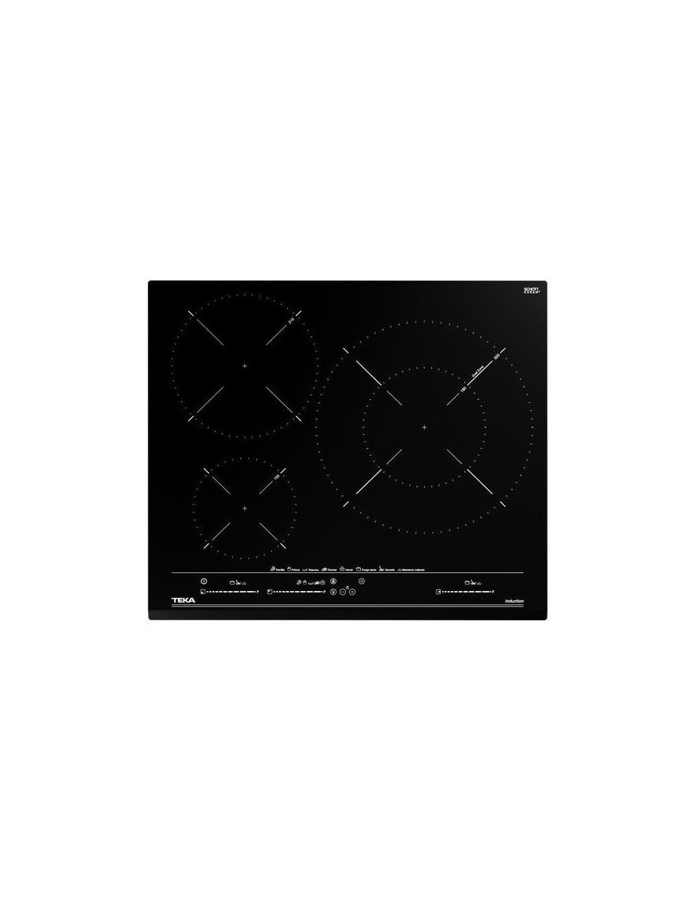 Placa Inducción Teka IZC 63632 MST 3 Zonas 60cm MasterSense Ref.112510011