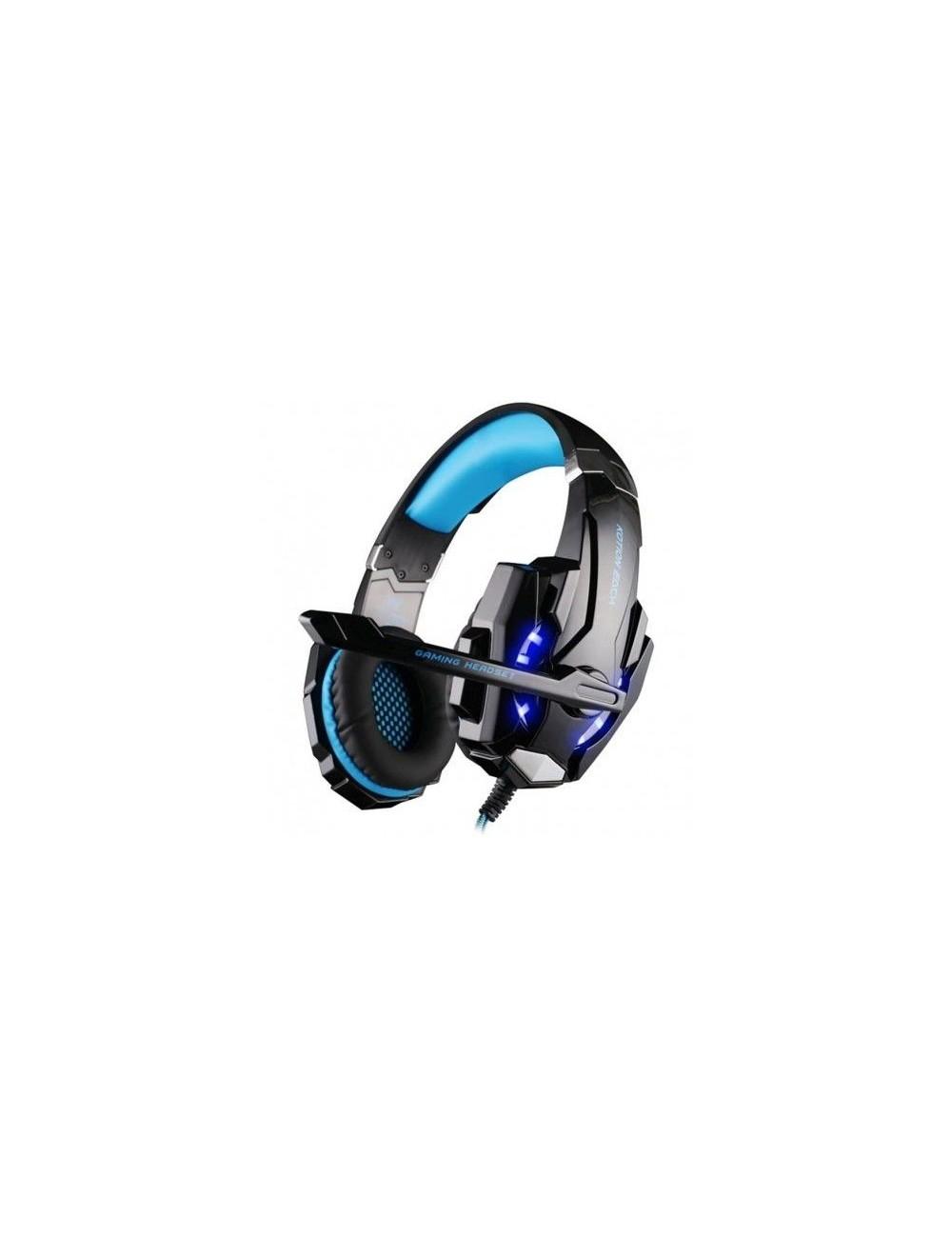 Auriculares Gaming Myo MY4060A Azul Juegos Micrófono