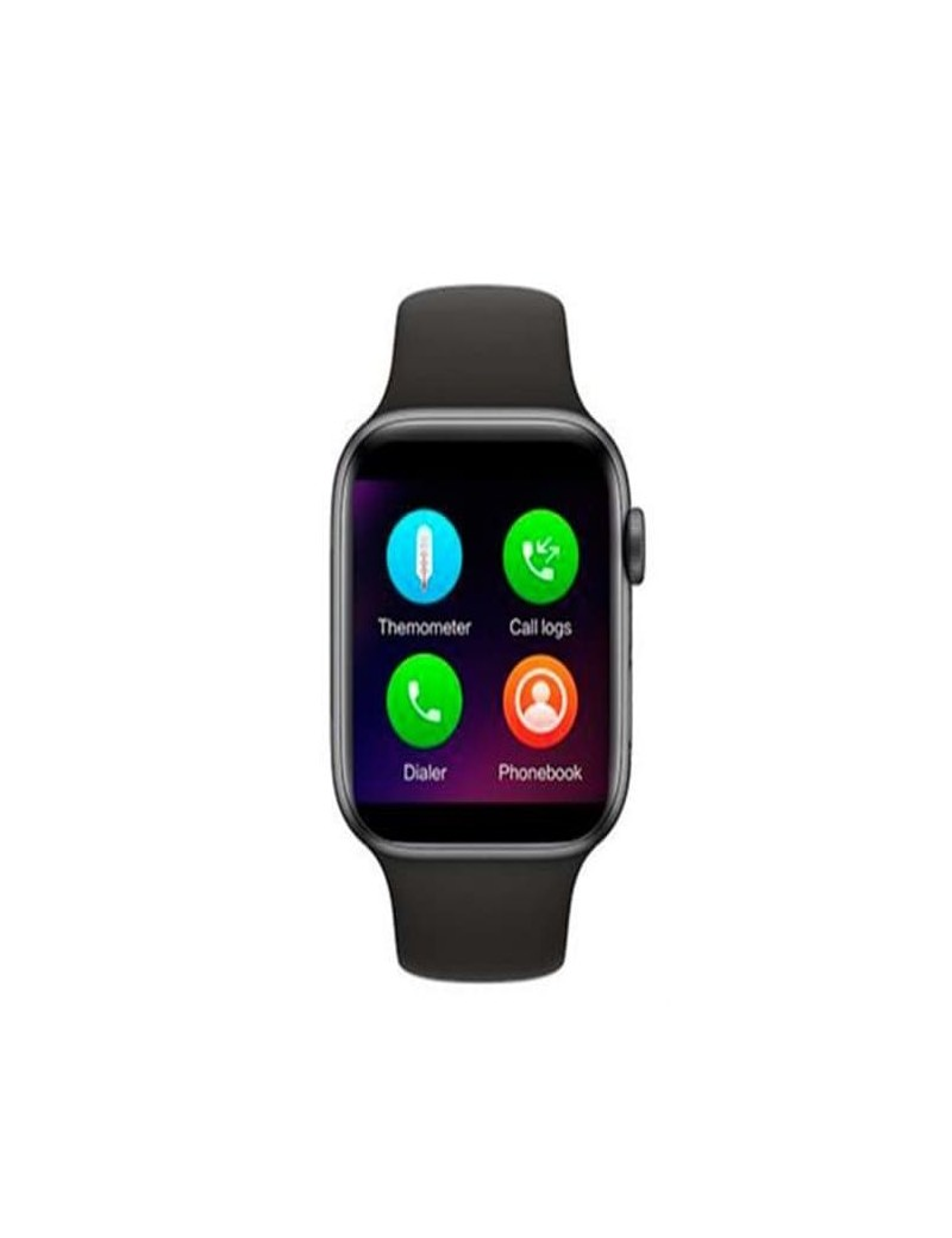 Reloj Smartwatch Myo MY8000N Negro Bluetooth