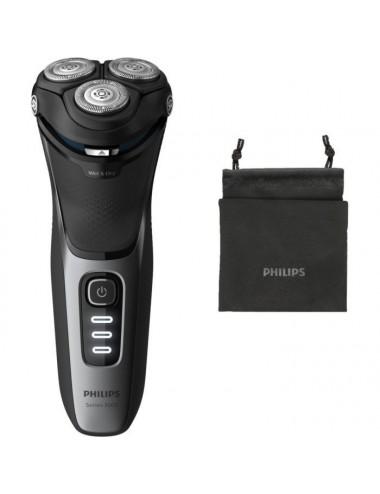 Máquina de afeitar Philips S3231/52 Recargable Seco Húmedo Serie 3000