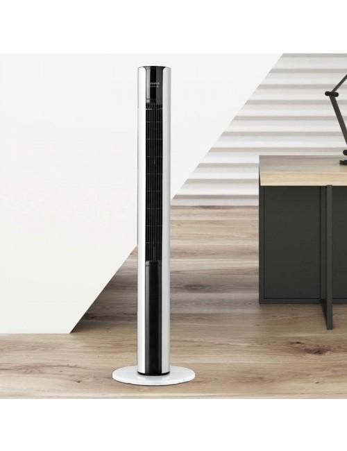 Ventilador de torre Taurus Babel Infinite 110cm Mando Distancia Silencioso
