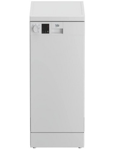 Lavavajillas Beko DVS05024W Blanco 45cm Clase E Display Led