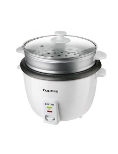 Arrocera Taurus Rice Chef 700W Cocedor Arroz 1,8L Accesorio Vapor