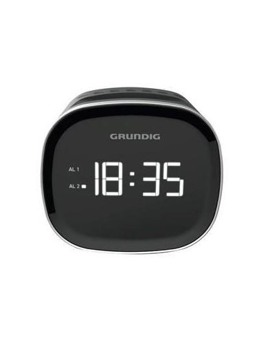 Radio Reloj Despertador Grundig SCC240 Digital Bluetooth Negra
