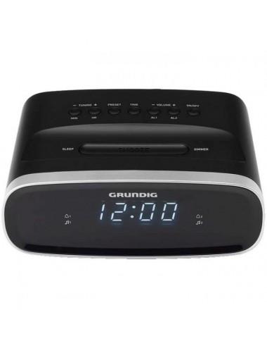 Radio Reloj Despertador Grundig SCN120 Digital Pantalla Led Negro