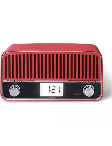 Radio Retro Sunstech RPRBT3500RD Bluetooth Digital Roja