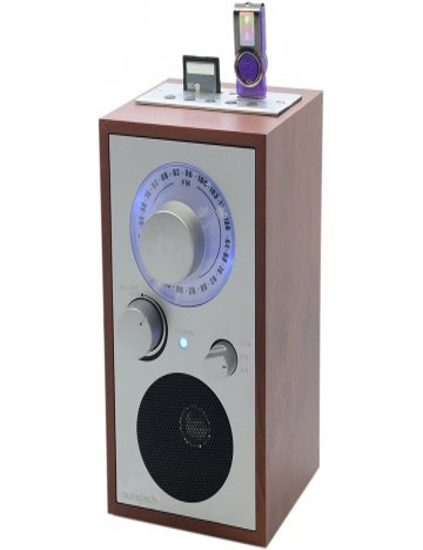 Radio diseño Retro Sunstech RPR3000 con Altavoz USD SD MMC