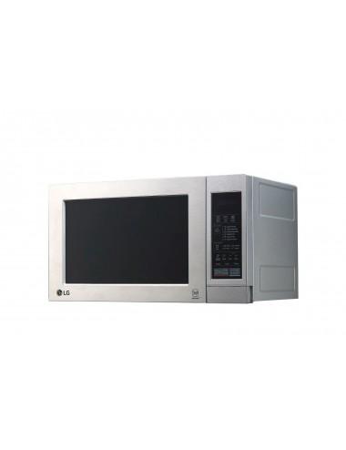Microondas LG MH6044V Inox Grill 19L 700W Inverter Antihuellas