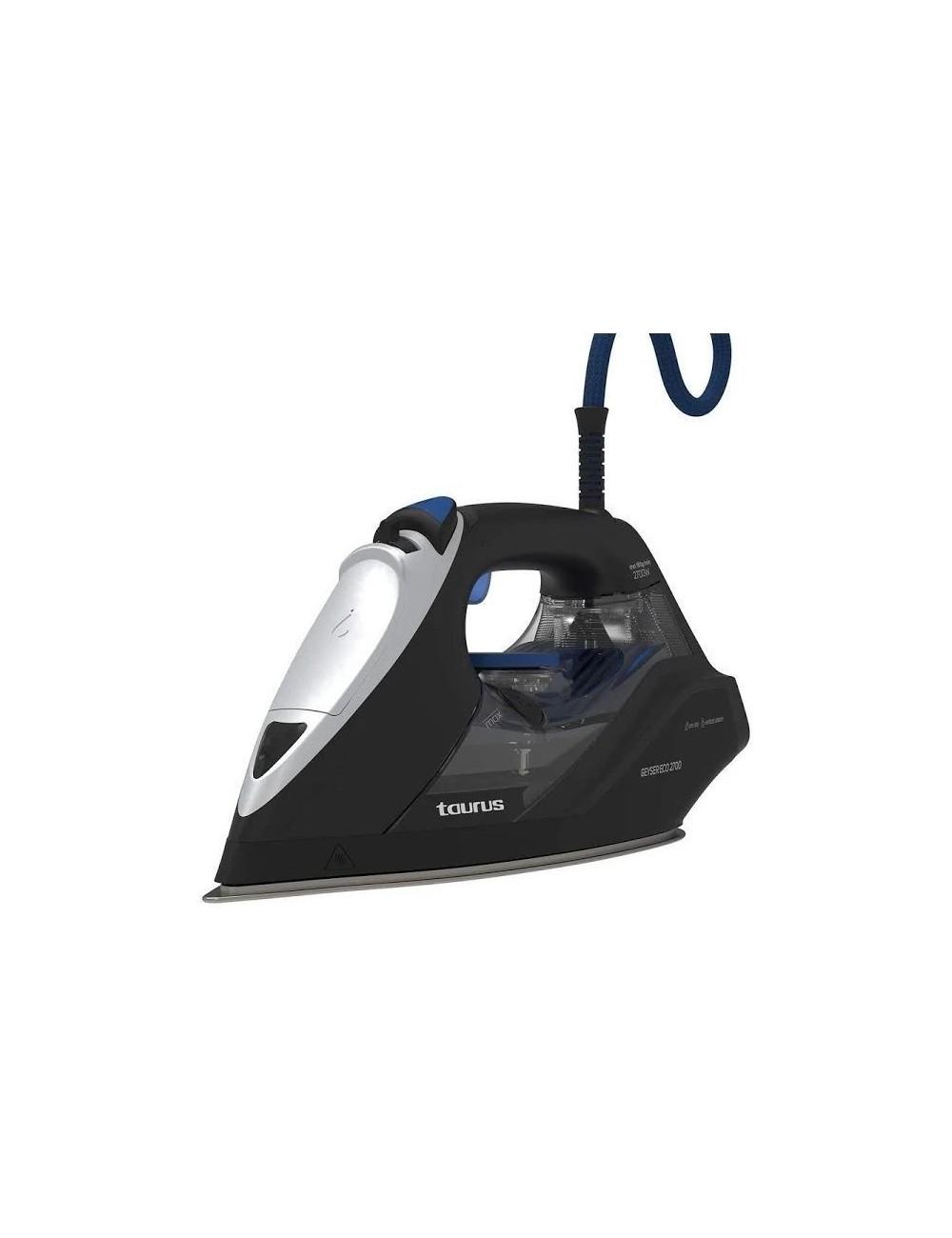Plancha de vapor Taurus Geyser ECO 2700 W Negra